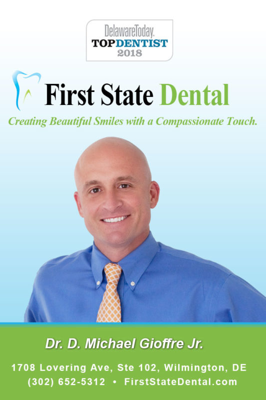 2018 Top Dentist - Wilmington - Delaware Today