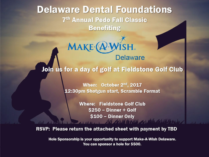 Make A Wish - Delaware Pedo Benefit Golf