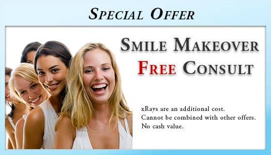 Free Cosmetic dentistry Smile Makeover Consultation - Wilmington, DE Dentist. Free Smile Makeover Consultation - xRays are an additional cost. Cannot be combined with other offers. Cannot be combined with other offers. No cash value.
